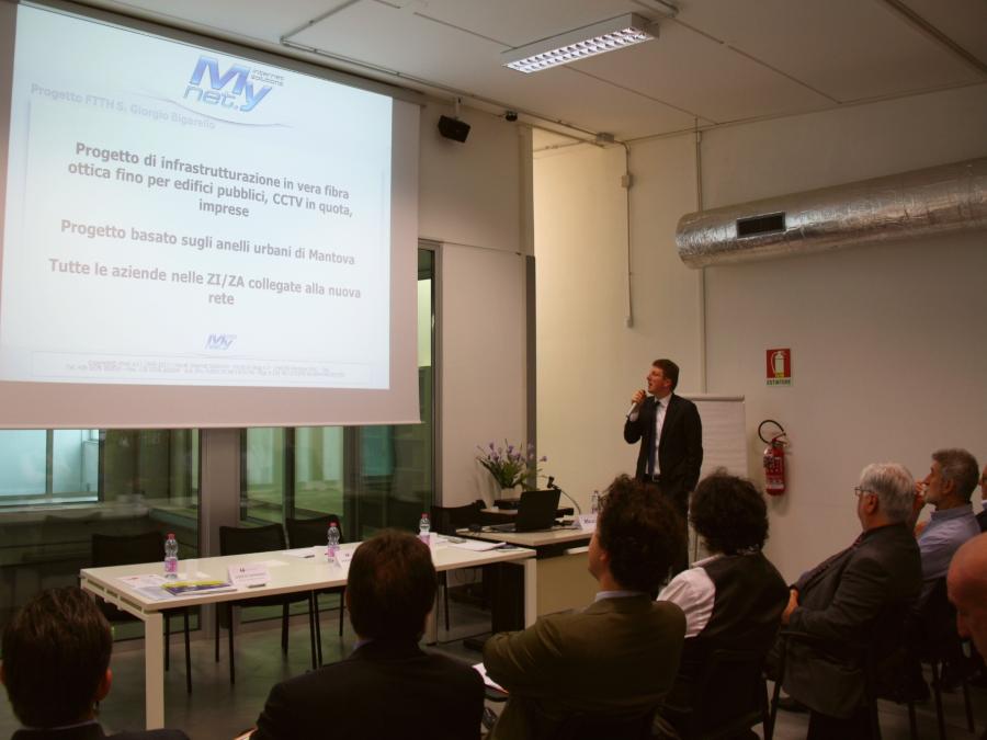 Comune San Giorgio Bigarello conferenza presentazione banco Attract